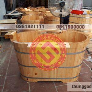 cơ sở sản xuất bồn tắm gỗ Hoàng Gia