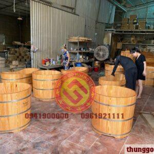 bồn tắm gỗ tự nhiên giá rẻ