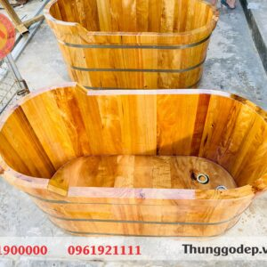 bồn gỗ tắm